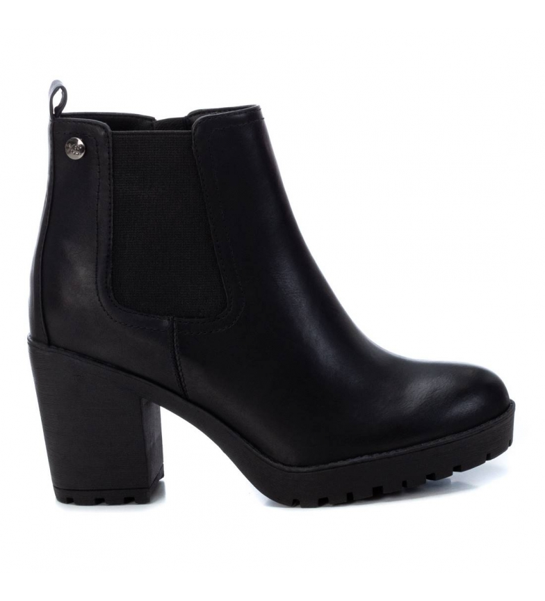 Comprar Xti Ankle boots 034352 black -heel height: 8 cm