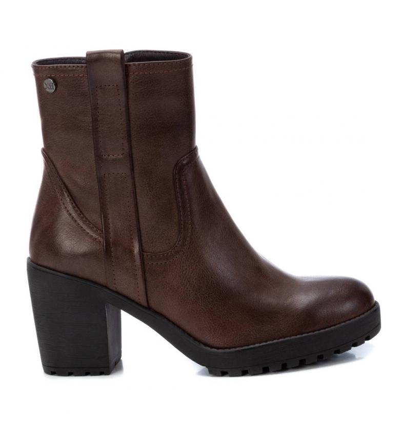 Comprar Xti Botas de tornozelo 034394 castanho -Altura do calcanhar: 8 cm