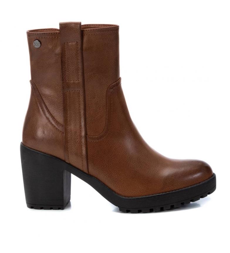 Comprar Xti Stivaletti 034394 marrone - Altezza tacco: 8cm