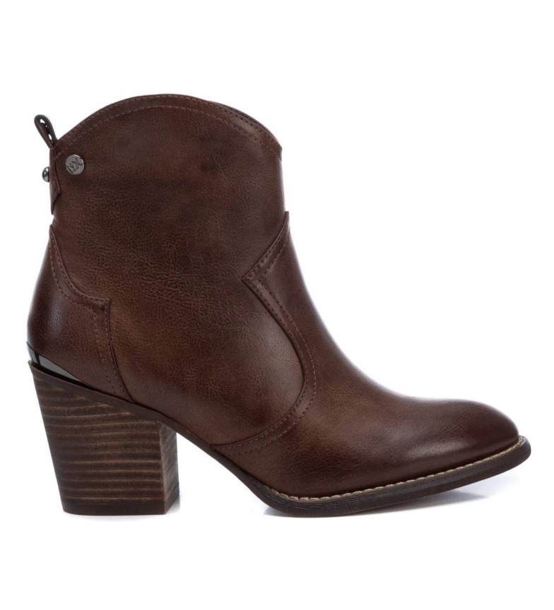 Comprar Xti Ankle boots 034412 brown -Heel height: 7 cm