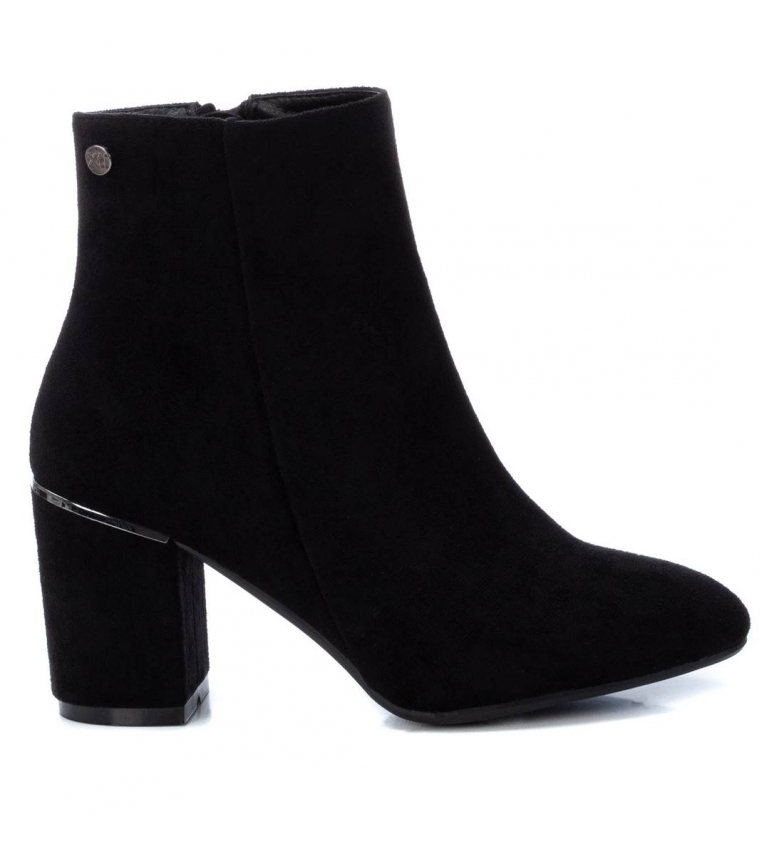 Xti Ankle boots 034413 black -heel height: 8 cm