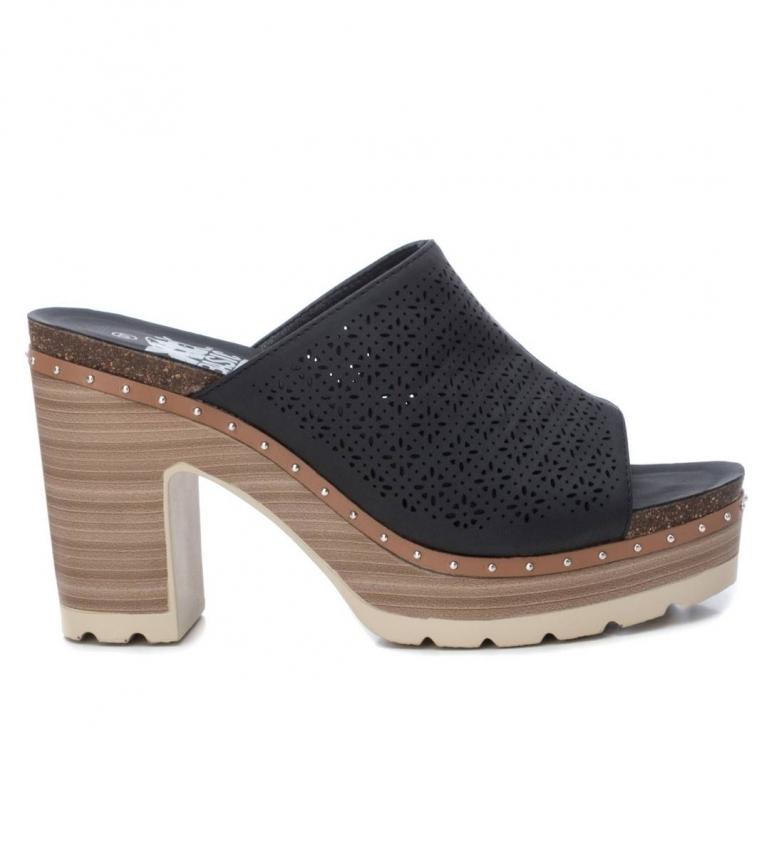 Xti Sandals 034241 black -Heel height: 10cm
