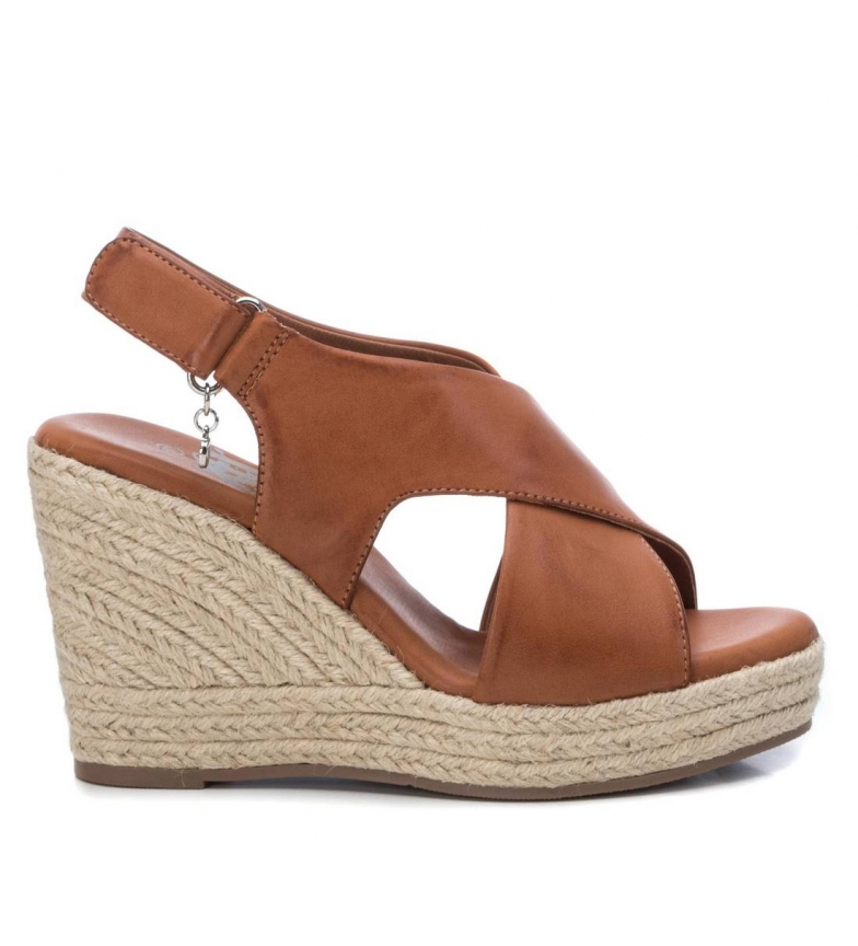 Comprar Xti Sandals Basic 034267 brown - Wedge height:10cm