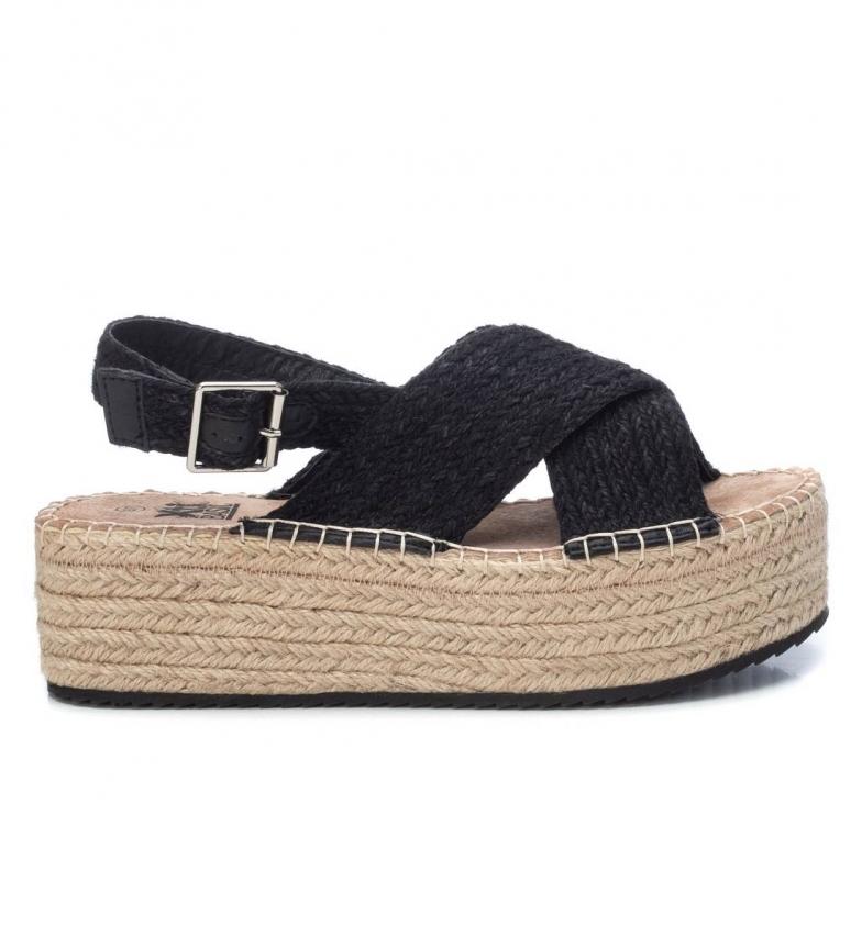 Comprar Xti Sandales 035731 noir -Hauteur du plateau : 6 cm