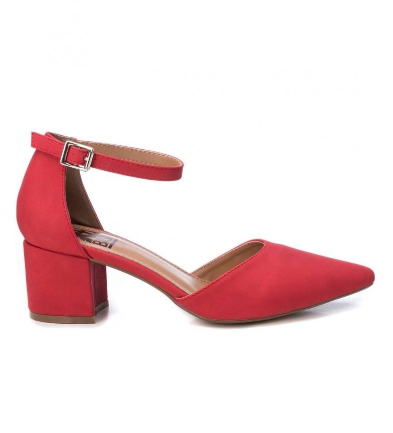 Xti Scarpa da salotto 034244 rosso - Altezza del tacco: 6cm