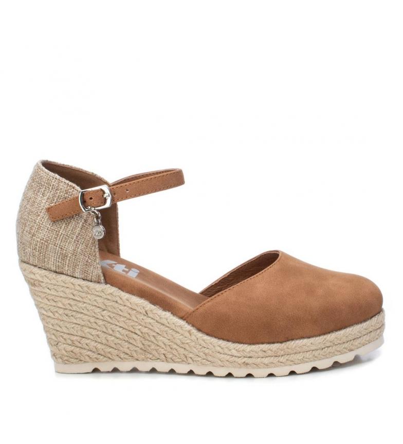 Comprar Xti Sandals 034305 brown - wedge height: 8cm