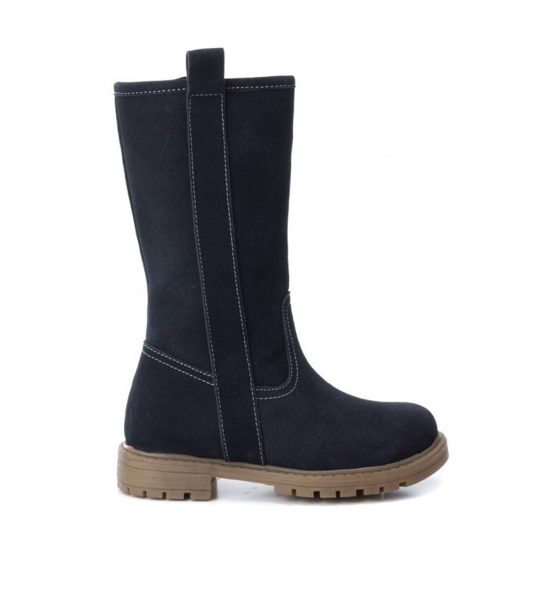 Comprar Xti Kids Stivali di pelle 055983 blu scuro