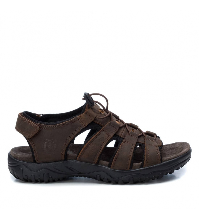 Comprar Xti Leather sandals 043379 brown