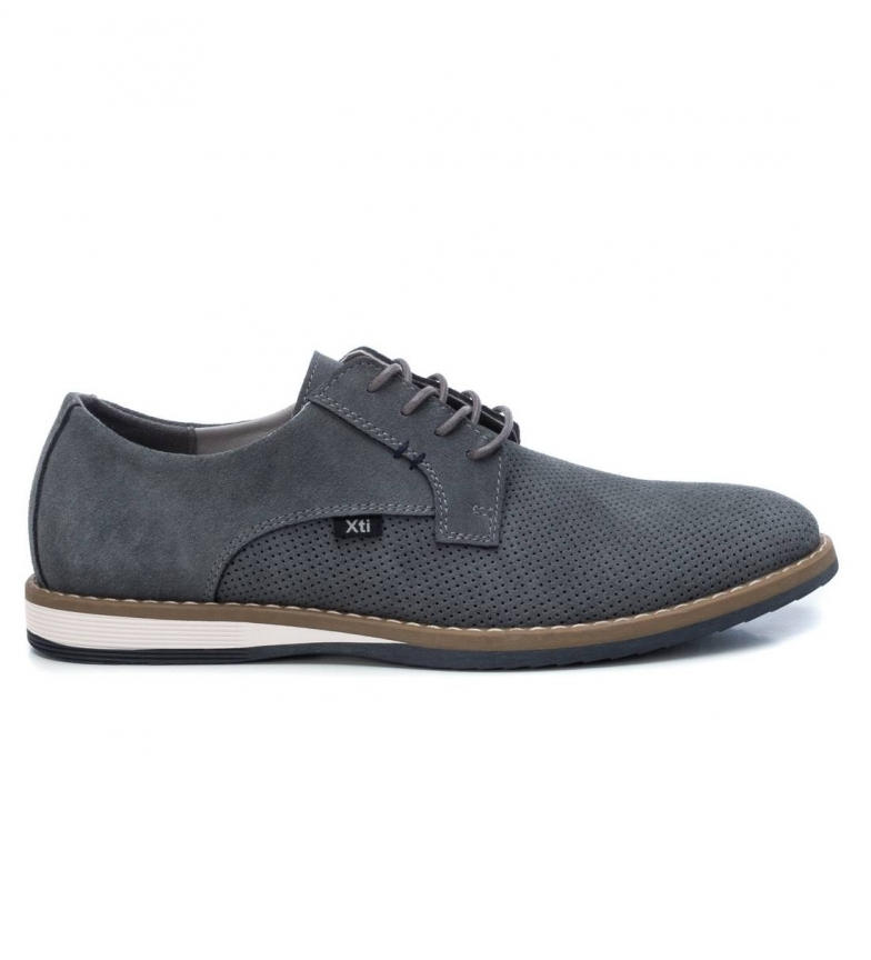 Comprar Xti Sapatos de couro 049604 cinza
