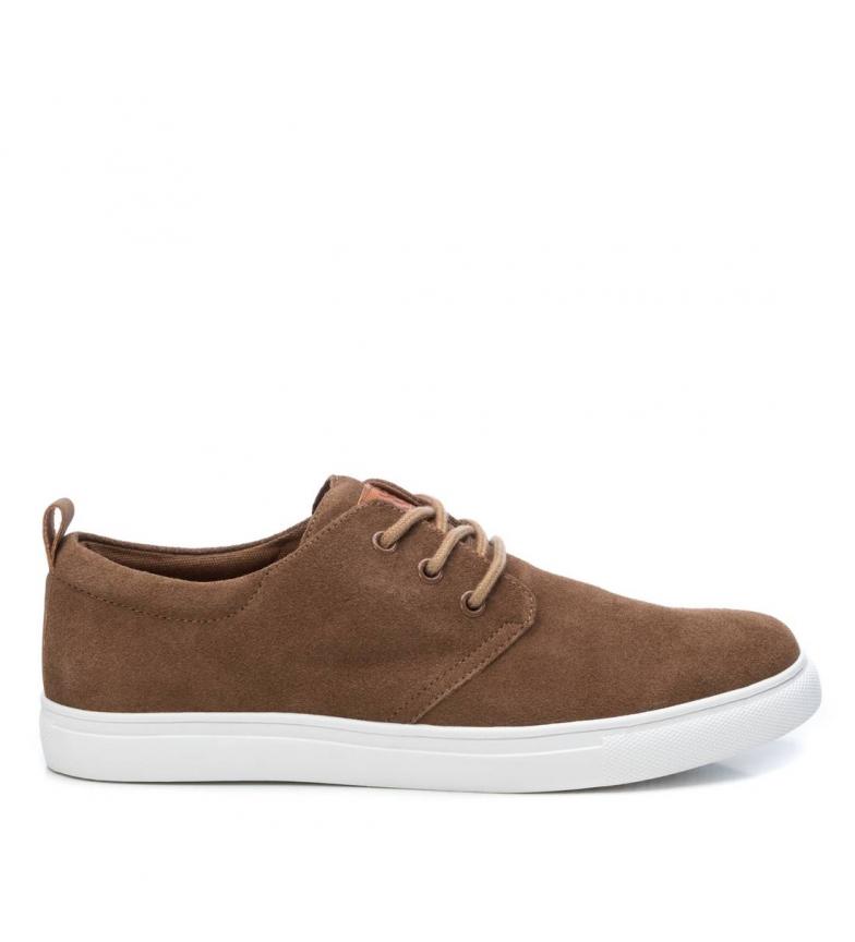 Comprar Xti Sapatos de couro 049607 camelo