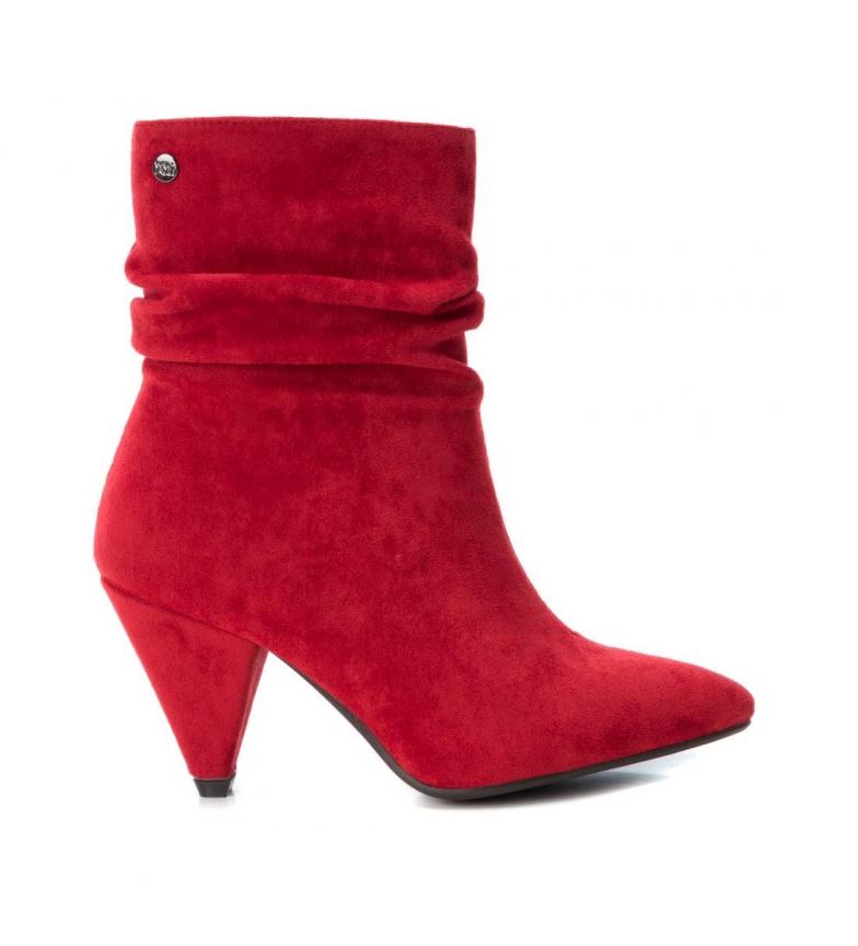 Comprar Xti Bottes 035094 rouge -Hauteur du talon : 8cm