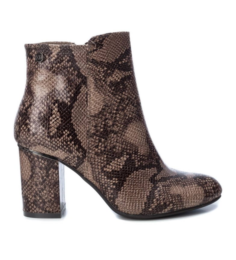 Comprar Xti Botines Tentations  035160 serpiente  -Altura tacón: 8cm-