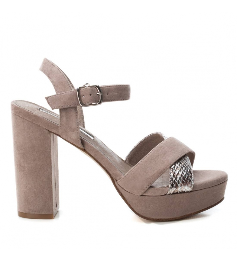 Comprar Xti Sandals 032055 taupe -Heel height: 11cm