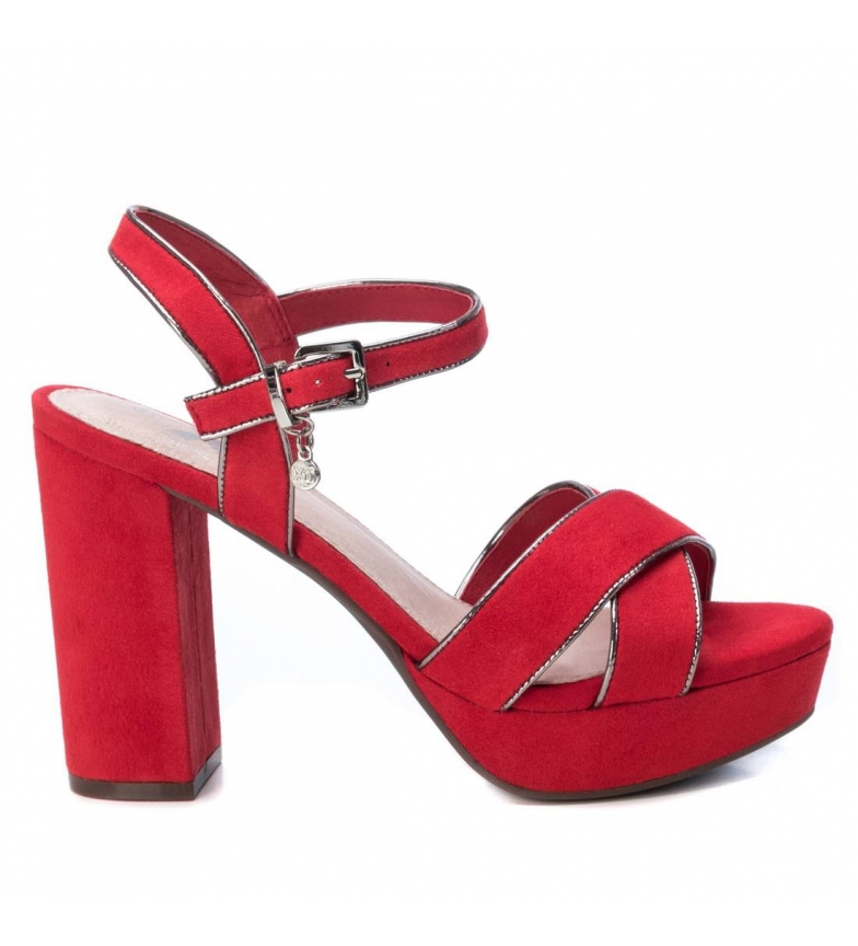 Comprar Xti Sandals 35178 red -Heel height: 11cm