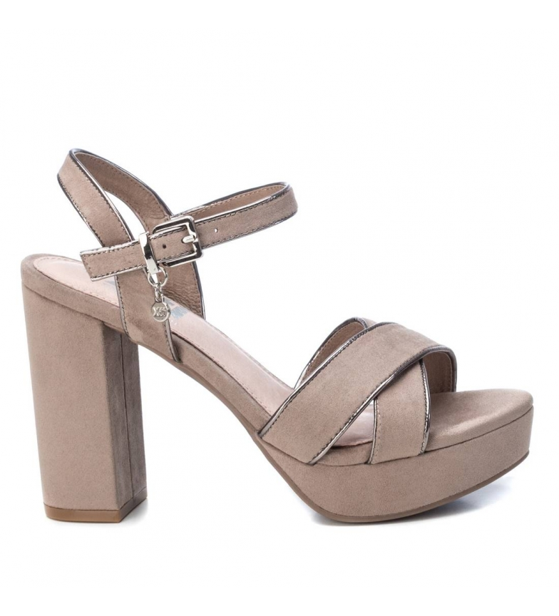 Comprar Xti Sandals 35178 taupe -Heel height: 11cm