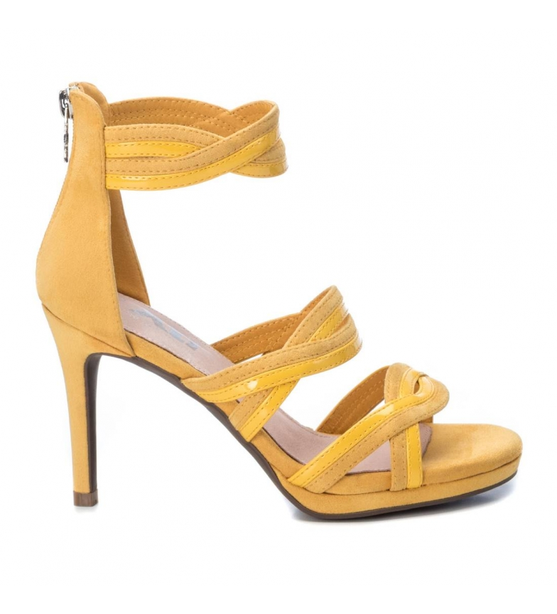 Comprar Xti Sandals 035185 yellow -Heel height: 9cm