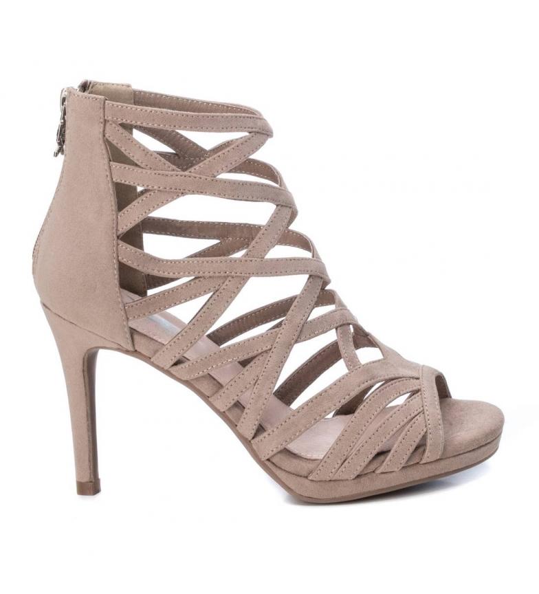 Comprar Xti Sandals 35189 taupe -Heel height: 9cm