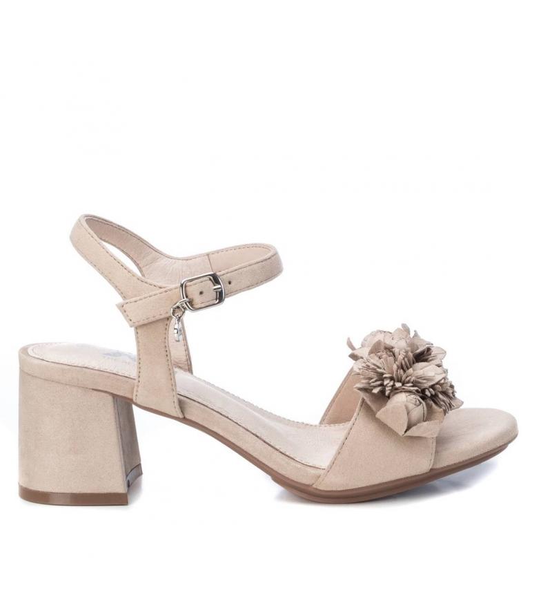 Comprar Xti Sandals 035193 beige -Heel height: 7cm