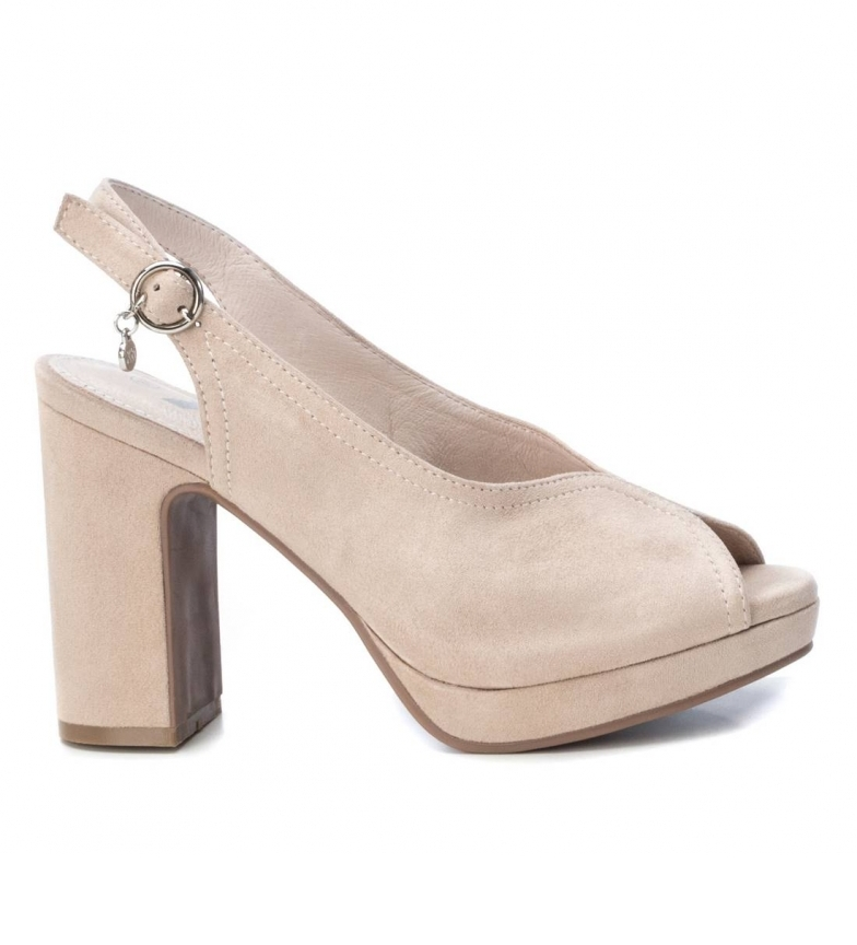 Comprar Xti Shoes 035177 beige -heel height 10 cm-