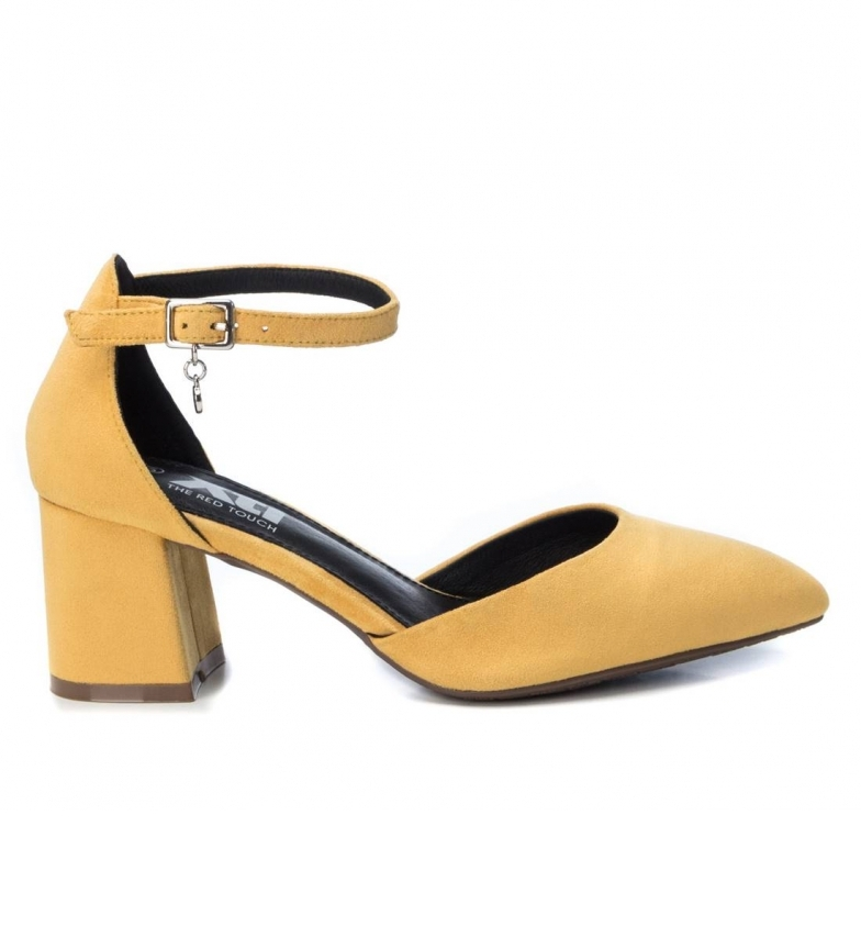 Comprar Xti Shoes 035182 yellow -heel height 6 cm