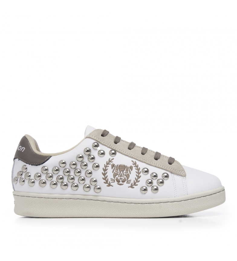 Comprar Xyon Pantofole in pelle 0130 Marley bianco