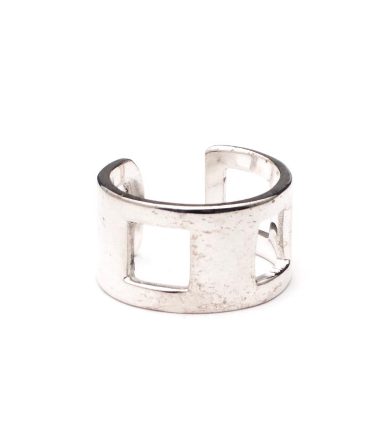 Comprar Yocari Square Silver Ring