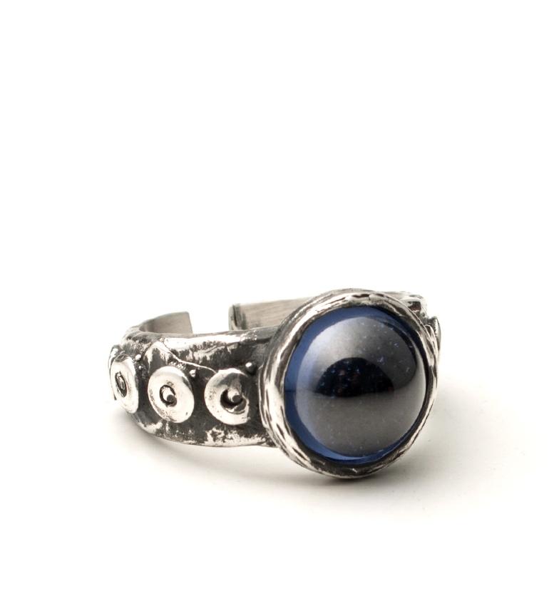 Comprar Yocari Dahlia silver ring, marine