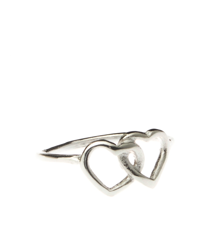 Comprar Yocari Sterling silver ring Heart bound