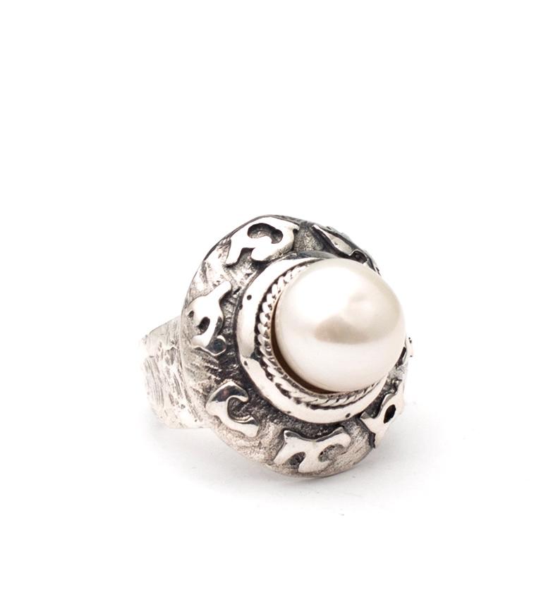Comprar Yocari Anillo Desierto plata, perla