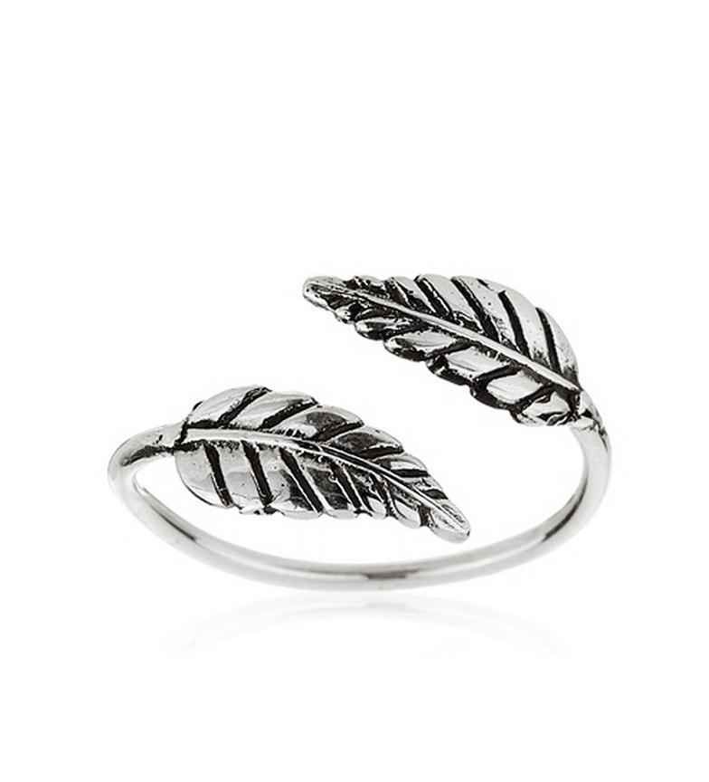 Comprar Yocari Silver Double Feather Ring