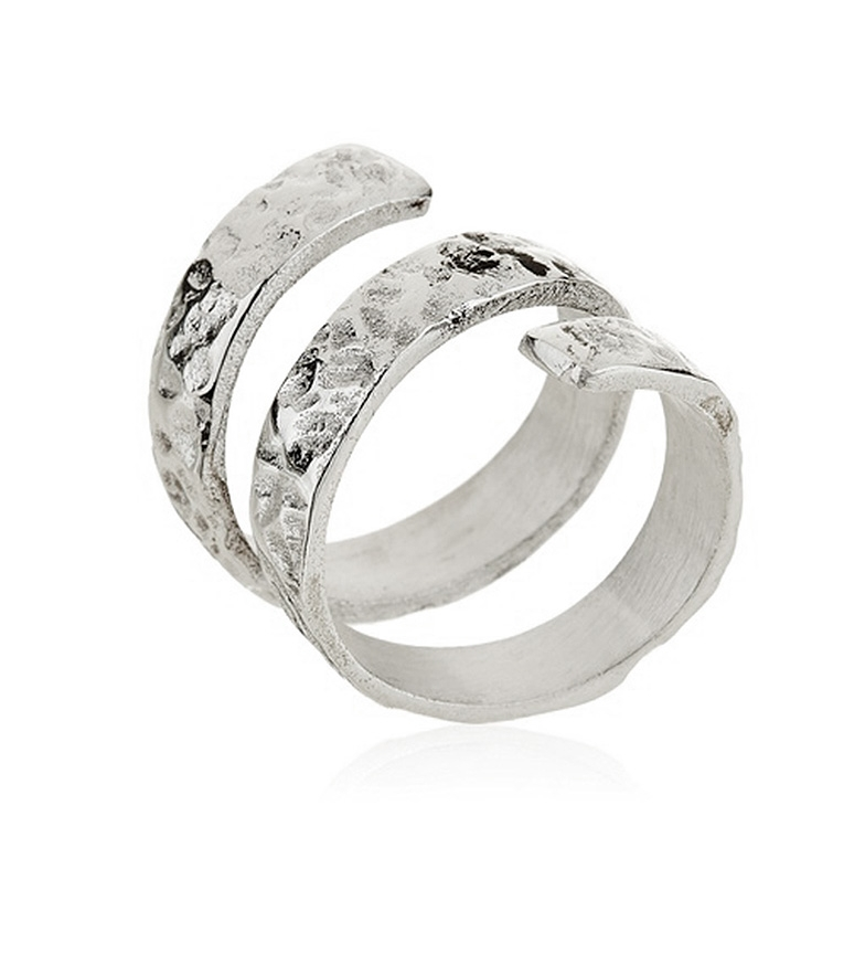 Comprar Yocari Silver Spiral Ring