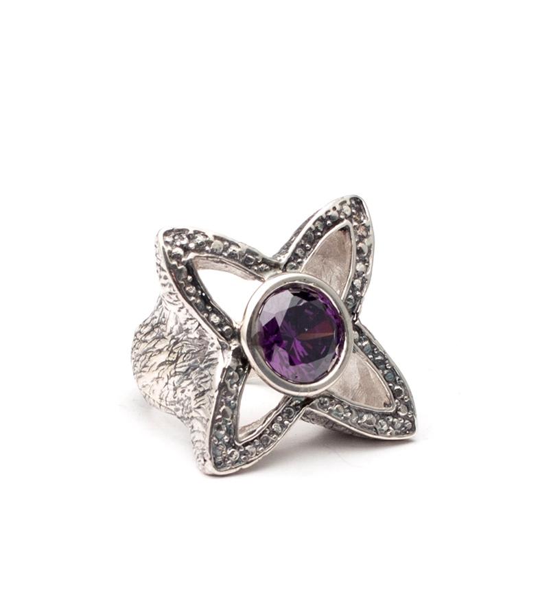 Comprar Yocari Ring Galaxia silver, amethyst