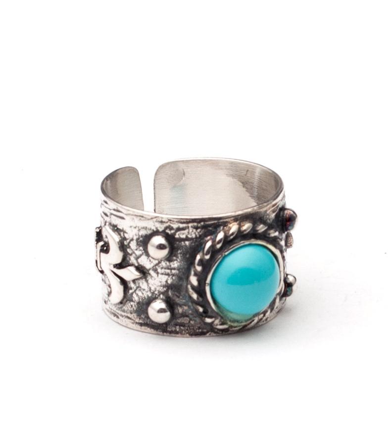Comprar Yocari Holia silver ring, turquoise