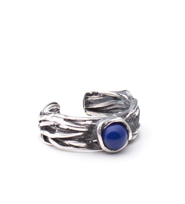 Comprar Yocari Ring Ifora silver, lapis lazuli