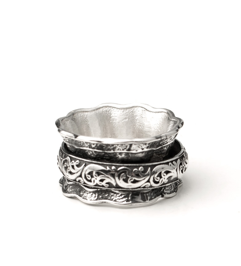 Comprar Yocari Jenesis silver ring