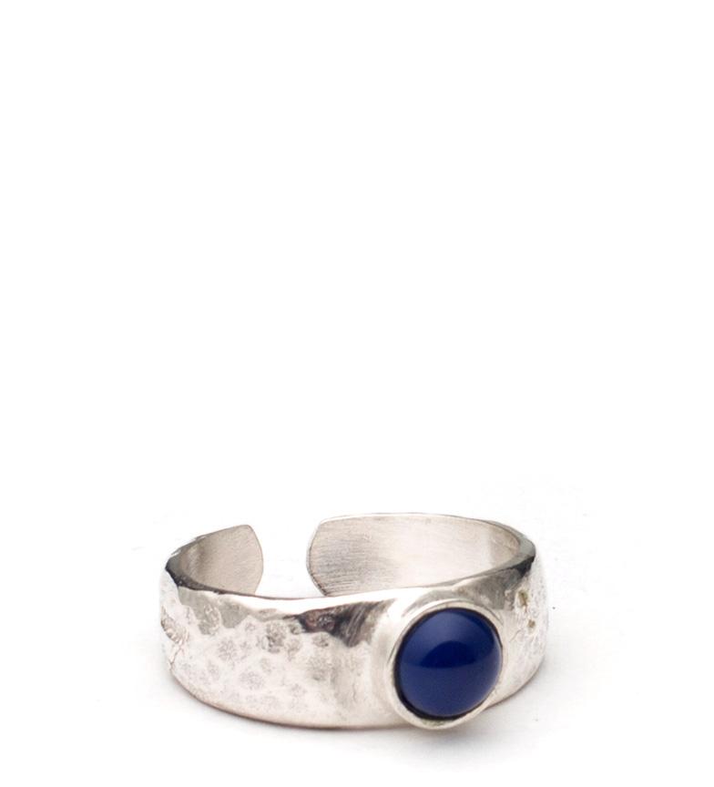 Comprar Yocari Anello d'argento Mayta, ambra blu