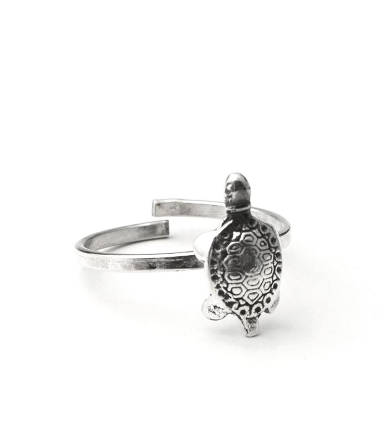 Comprar Yocari Tortoise silver ring