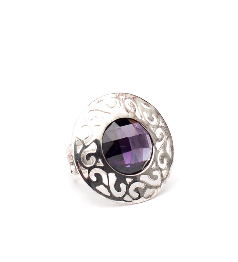 Comprar Yocari Vitra silver ring, amethyst