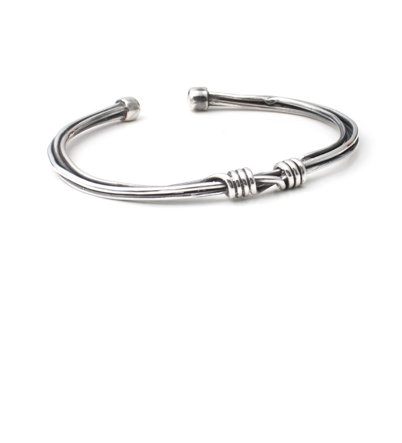 Comprar Yocari Nodo braccialetto d'argento