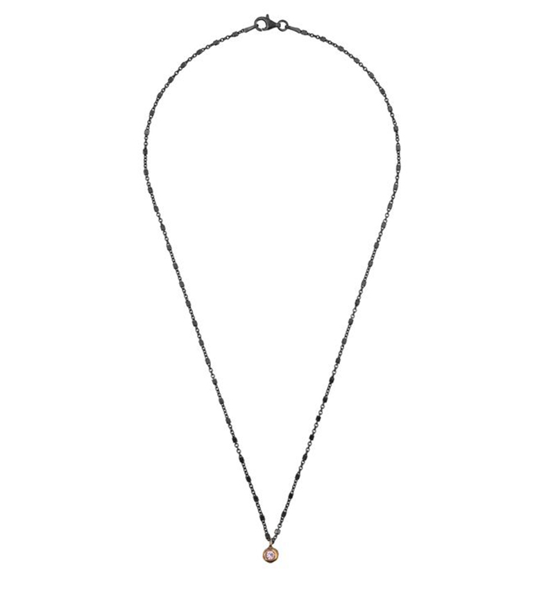 Comprar Yocari Collana Rotonda rutenio argento rosa argento rosa