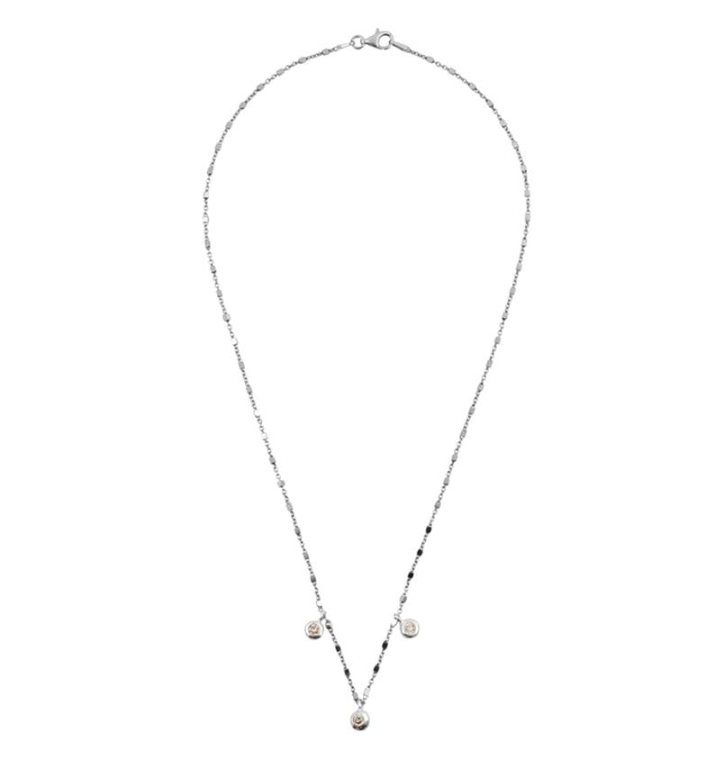 Comprar Yocari Collar Redondas plata rodiada champagne