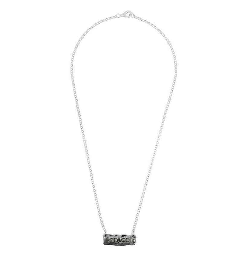 Comprar Yocari Necklace Peace silver