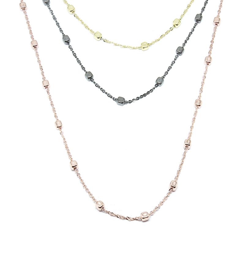 Comprar Yocari Collar Cuadrados plata
