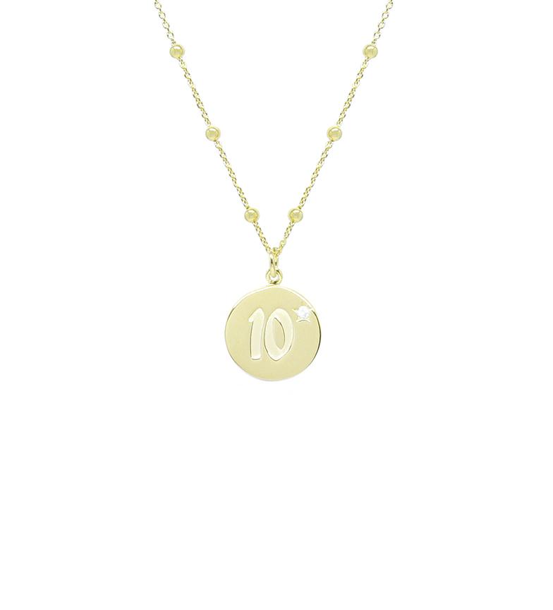 Comprar Yocari Dieci collana placcata in oro