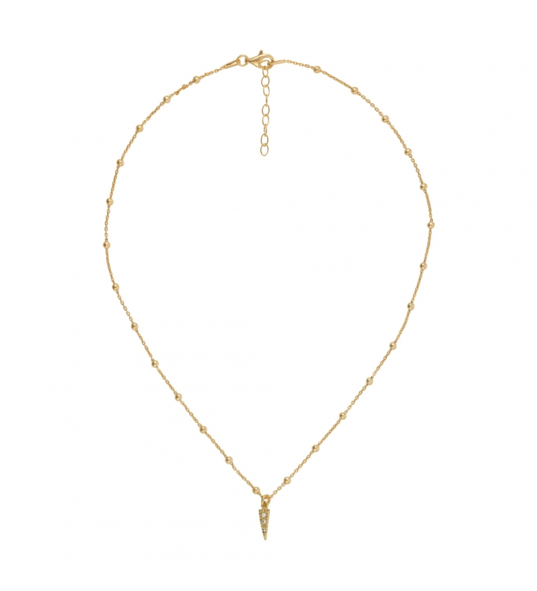 Comprar Yocari Gold Plated Silver Necklace Gold Plated Zirconia Beads