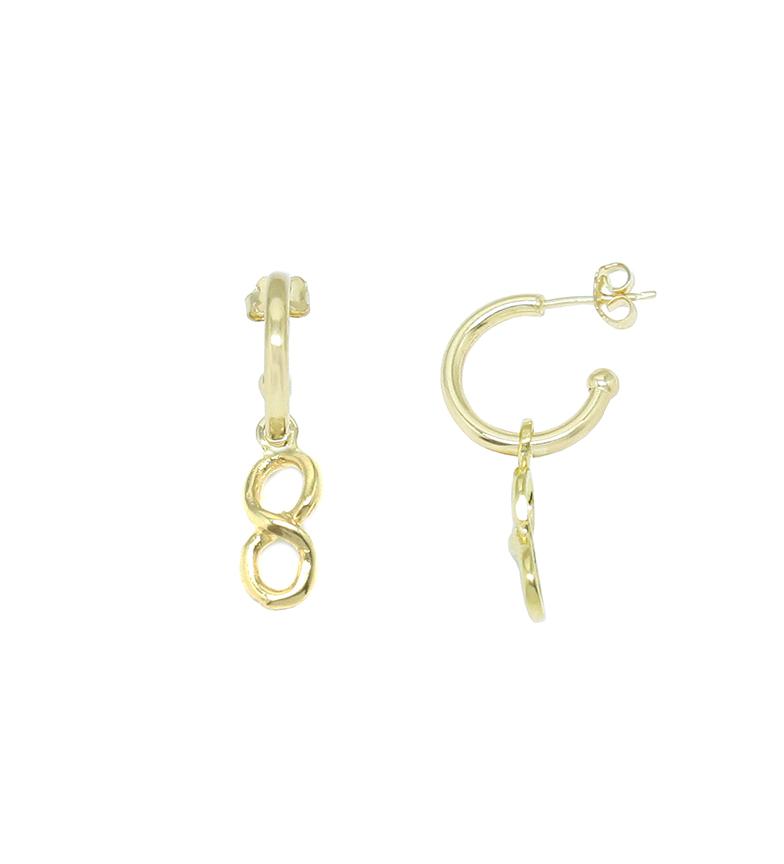 Comprar Yocari Infinity Creole in argento placcato in oro