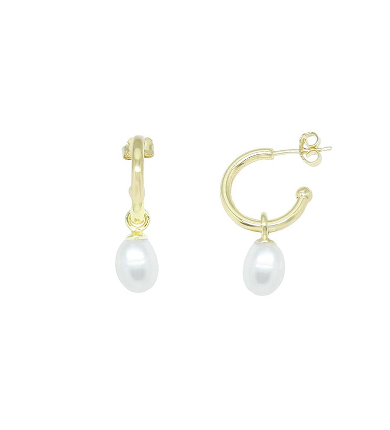 Comprar Yocari Criollas Perla plata chapada en oro