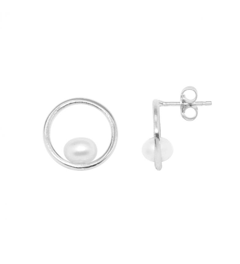 Comprar Yocari Earrings Circle 3 silver
