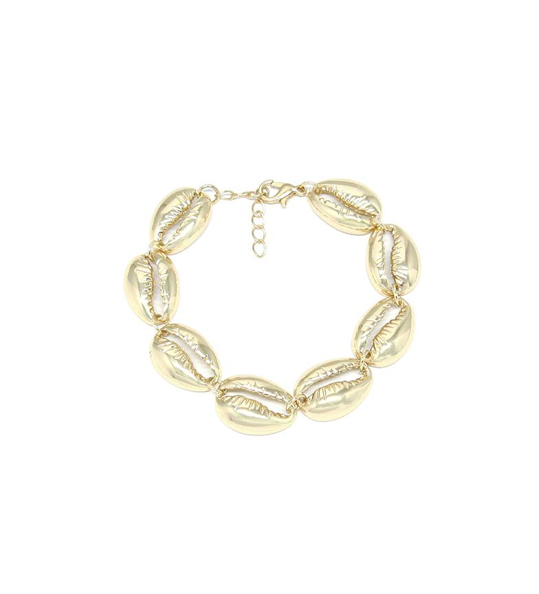 Comprar Yocari Pulsera Conchas plata chapada oro