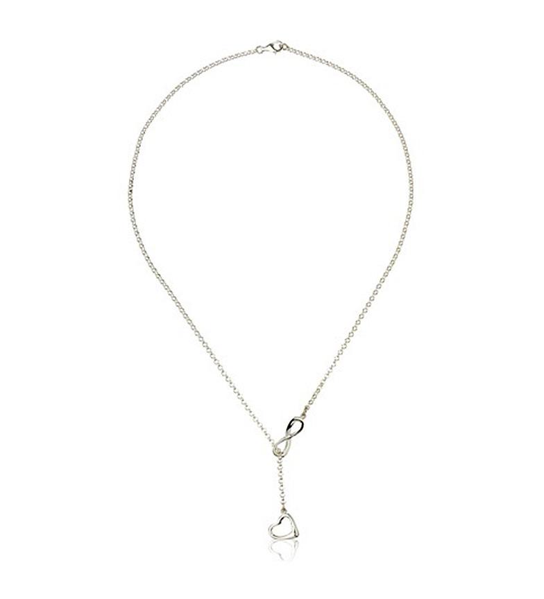 Comprar Yocari Collana Infinity con il cuore d'argento